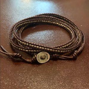 Chan Luu 4 wrap bracelet